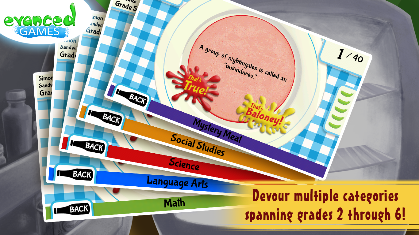 That's Baloney! Kids Quiz Game - screenshot