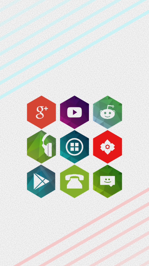 Hekz - Icon Pack- screenshot