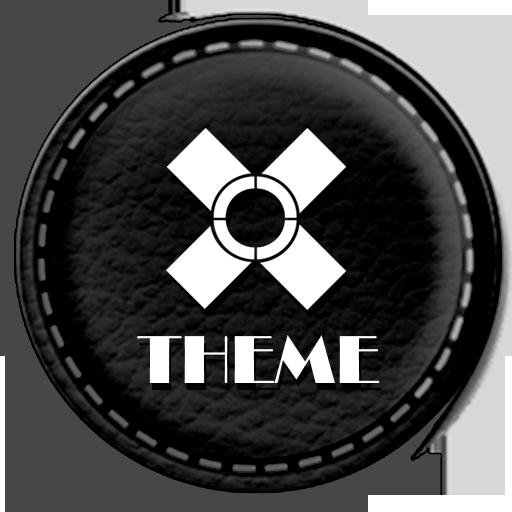 Leather Black Theme