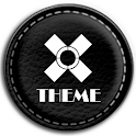 Leather Black Theme icon