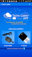 Screenshot of TACHOCABLE | Datos Tacógrafo