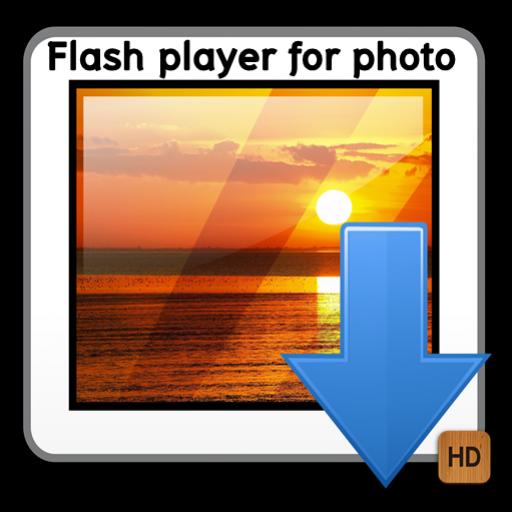 Flash player photo