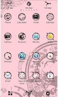 Screenshot of Clockwork Pink for[+]HOME