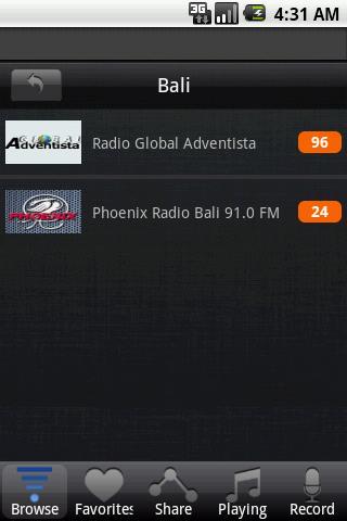 無料音乐Appのラジオインドネシア|記事Game