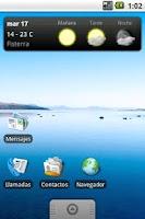 Screenshot of OTempo - Galician weather