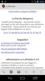 LaParola - the Italian Bible