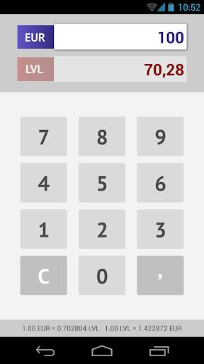 EUR Calculator