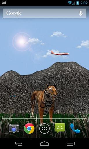 3D Tiger Gold Edition