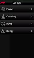 Screenshot of CET 2010 Solved Exam Paper
