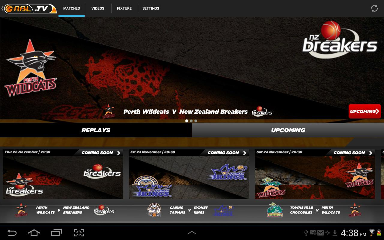 NBL TV - screenshot