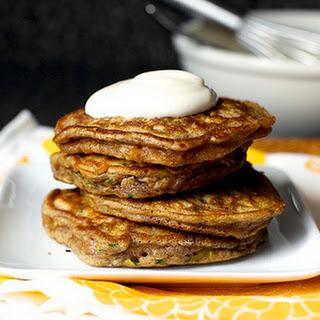 Zucchini Bread Pancakes [smittenkitchen.com]