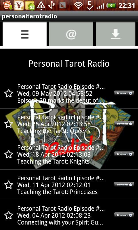 personaltarotradio- screenshot
