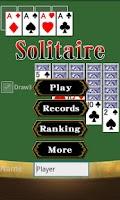 Screenshot of Solitaire Klondike