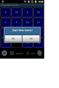 15 Number Puzzle - screenshot thumbnail