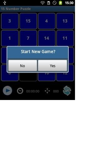 15 Number Puzzle - screenshot