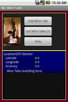 Screenshot of My Wine Tales FREE