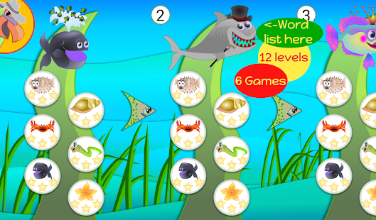 Sight Words Games - Parrotfish