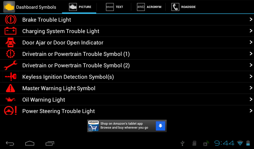 Vehicle Dashboard Symbols Google Play Store Revenue Download - Bmw dashboard signs meaning
