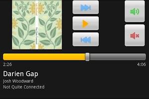 Screenshot of Amarok2 Remote