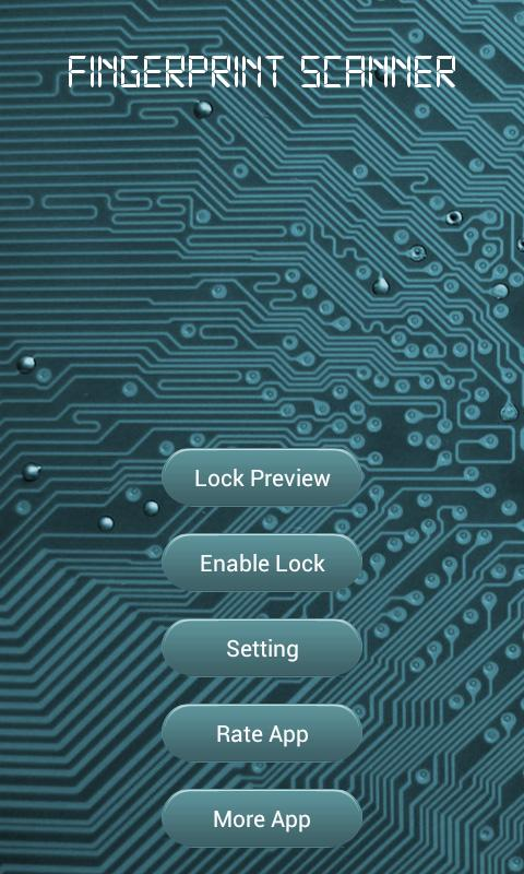 Fingerprint Scanner Protection - screenshot