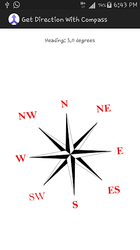 Get Directions With Compass