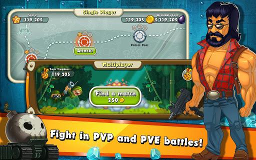 Jungle Heat: War of Clans 2.0.17 screenshots 9