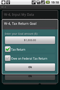 W-4 Fed.Tax Return Management - screenshot thumbnail