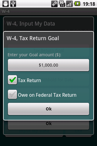 W-4 Fed.Tax Return Management- screenshot