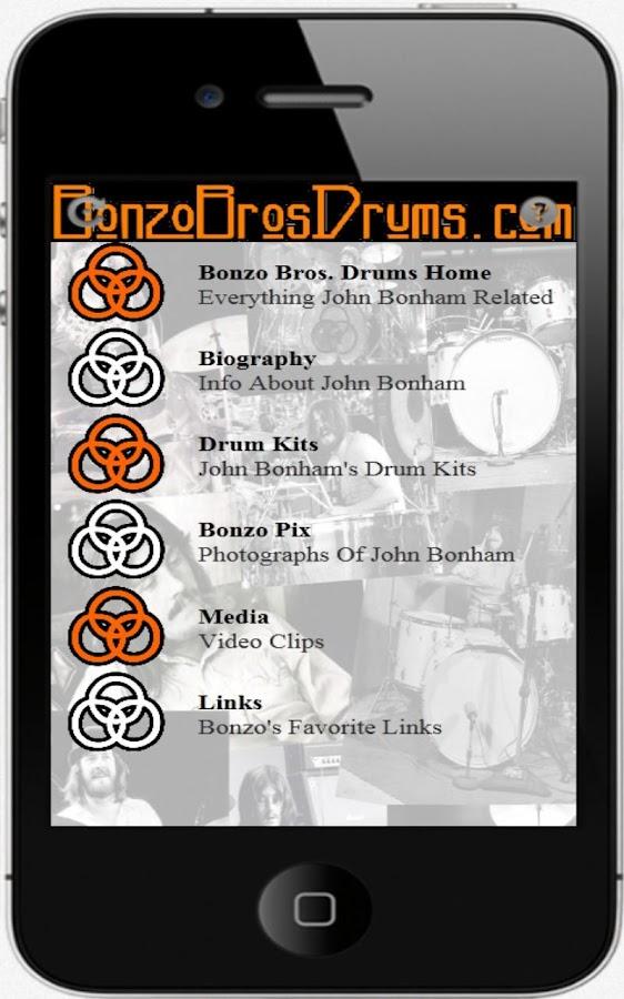 Bonzo Bros. Drums.com - screenshot