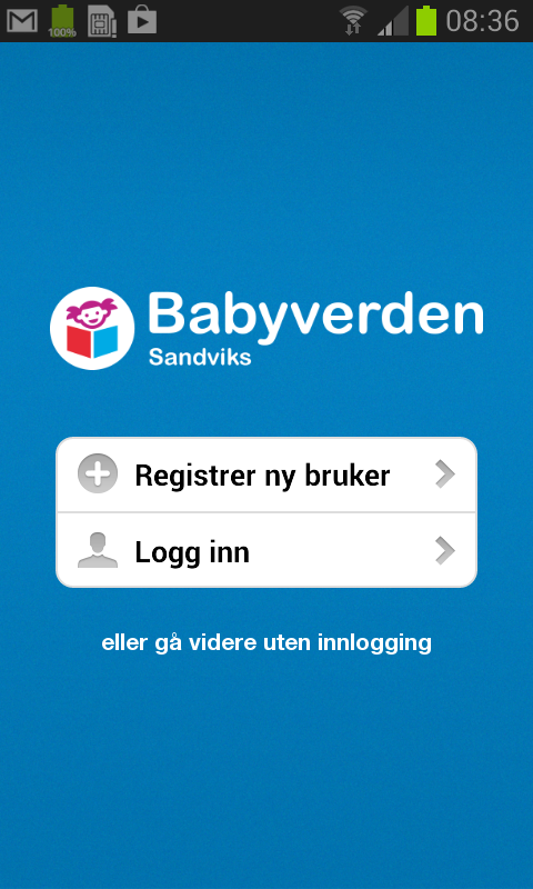 Babyverden.no - screenshot
