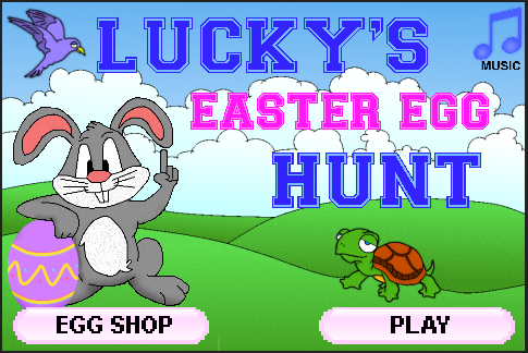 Lucky's Easter Egg Hunt
