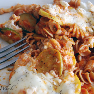 Baked Ziti With Summer Squash