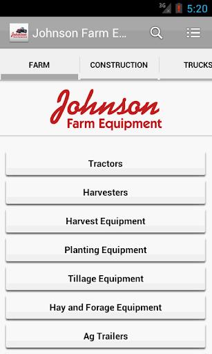 【免費商業App】Johnson Farm Equipment-APP點子