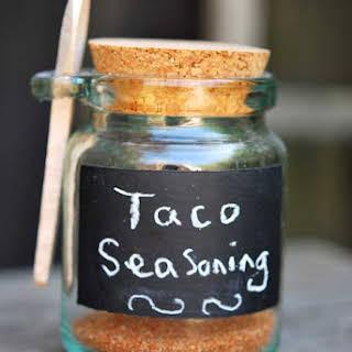 Clean Eating Taco Seasoning.
