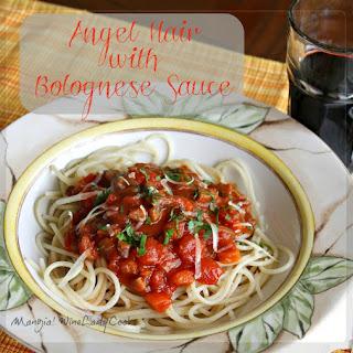 Vegetarian Bolognese Sauce.