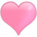 Pink hearts Livewallpaper icon