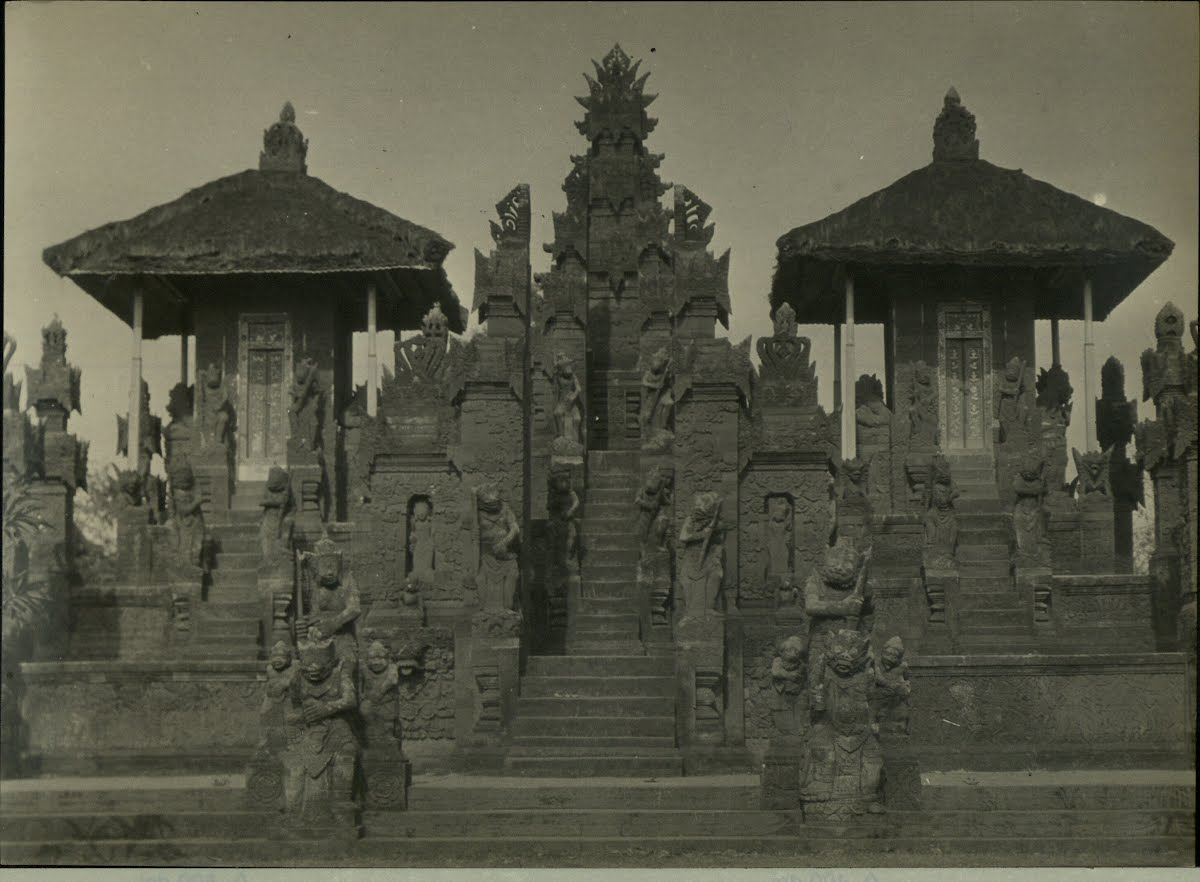 Dutch East Indies Bali Temples