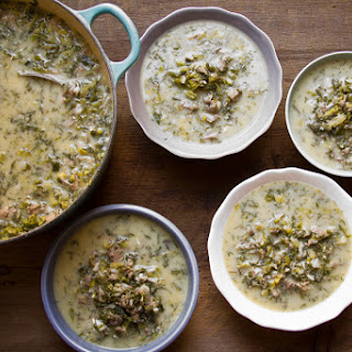 Greek Easter Soup.