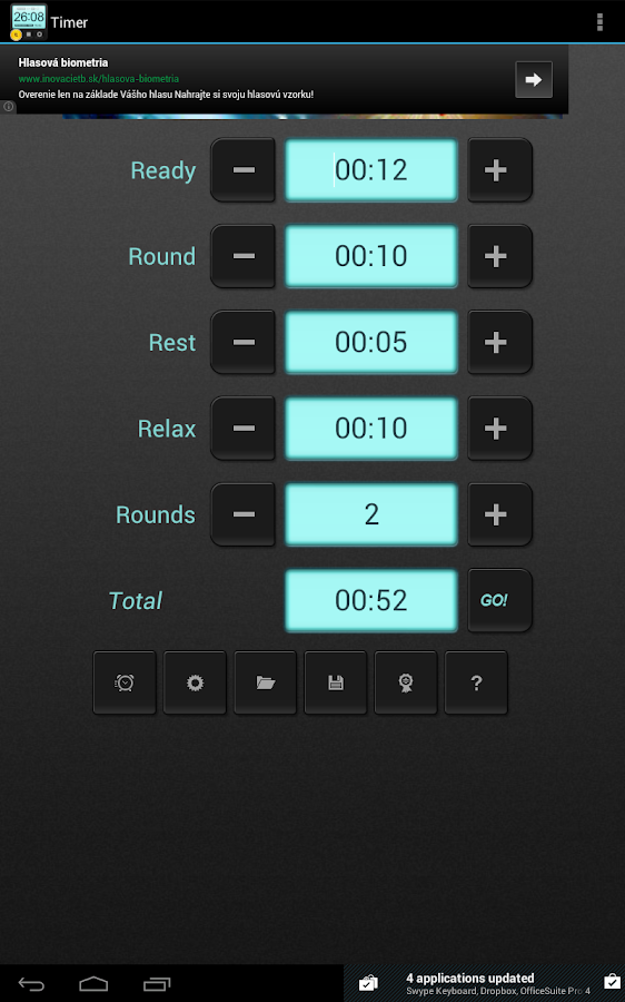 HIIT Interval Training TimerAD - screenshot