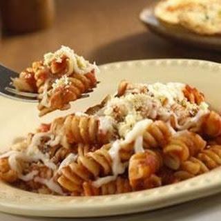 2-Step Cheesy Pasta Twists