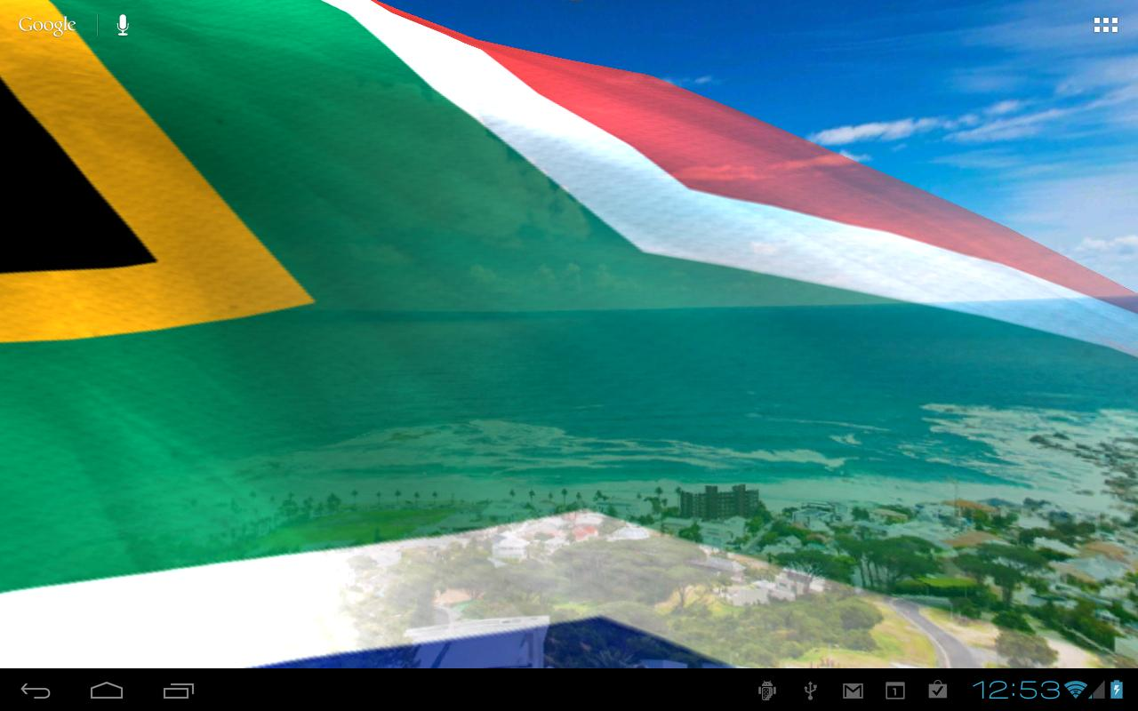 Flags of africa live wallpaper android apps on google play for 3d wallpaper for home south africa