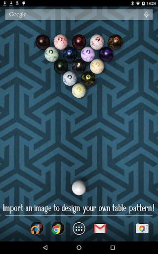 玩個人化App|KF Billiards Live Wallpaper免費|APP試玩