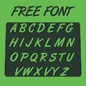 Brush Font icon