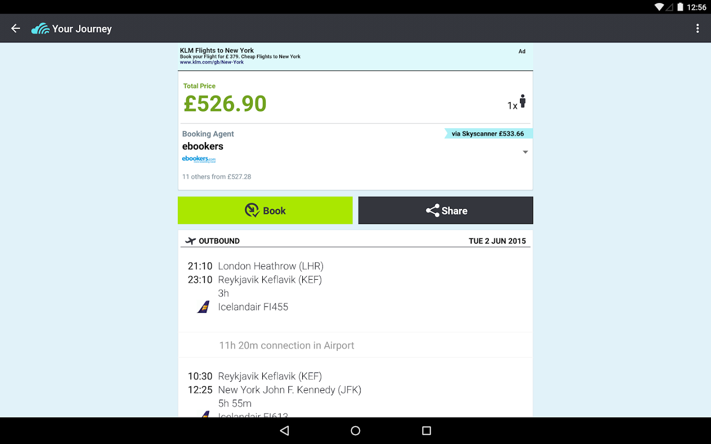 Skyscanner - All Flights! - screenshot