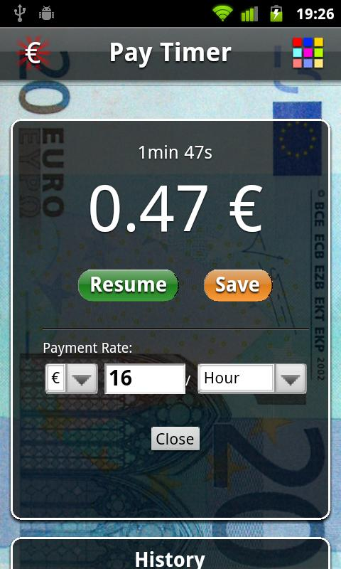 Pay Timer Free- screenshot