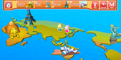 Screenshot of phonics Storywing english abc