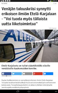 Ilta-Sanomat - screenshot thumbnail