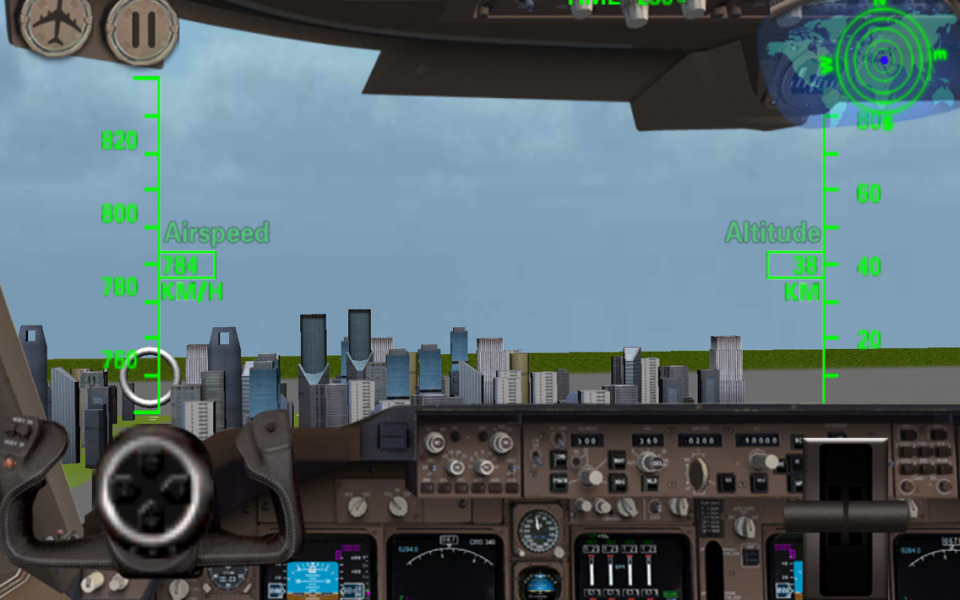 3D Airplane Flight Simulator- screenshot