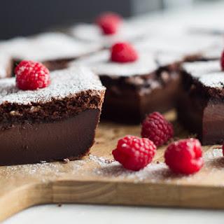 Chocolate Magic Custard Cake.