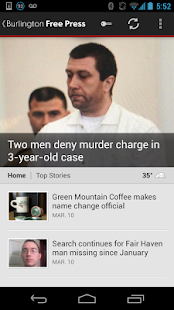 Burlington Free Press - screenshot thumbnail